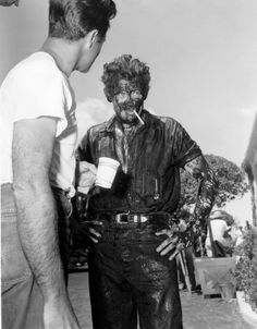 James Dean was so completely immersed in his character that he hardly ever changed out of his costume. Giant (1956)