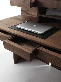 Schreibtisch Modern Holz