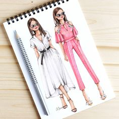 Style of Brush by Gizem Kazancigil #fashionillustration gizem kazancigil