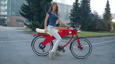 Lohner Stroler classic red Girls Gallery, Bicycle, Classic, Sexy, Templates, Bicycles, Electric Bicycle, Style, Derby