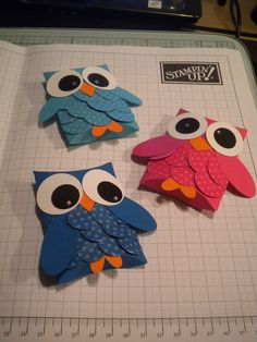 Pillow Box Owl tutorial