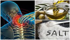 MIX A LITTLE SALT AND OLIVE OIL AND YOU WILL NOT FEEL PAIN FOR THE NEXT 5 YEARS ~ HealthyAeon
