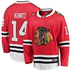 01cb762f4 Chris Kunitz Chicago Blackhawks Fanatics Branded Breakaway Player Jersey -  Red