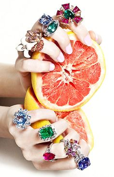 photographed by mónica suárez de tangil  http://onehsk.blogspot.nl/2011/07/fruit-temptation-vogue-spain-june-2011.html