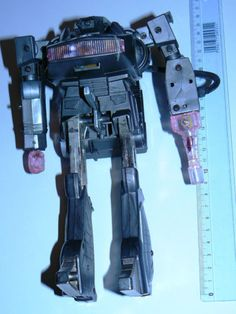 80s vintage retro bootleg Transformers G1 Shockwave space robot toy