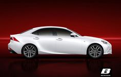 Say hello to the new Lexus IS