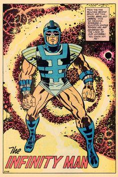 Infinity Man by Jack Kirby