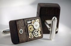 Steampunk USB cufflinks are as awesome as they are pricey. I think the steampunk style has some really cool products behind it.