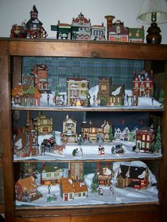 Dickens villages Christmas Time Is Here, Christmas Ideas, Christmas Decorations, Xmas, Christmas Village Display, Christmas Villages, Holiday Decorating, Decorating Ideas, Decor Ideas