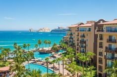 On Medano Beach-Villa del Arco Beach Resort & Spa Hotel in Cabo San Lucas, Baja California Sur, Mexico.