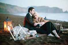 Head over heels in love with this engagement shoot - the details are surreal ! Photo by Meg Perotti