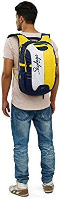 Skybags Strider 27 Ltrs Blue Laptop Backpack on Amazon