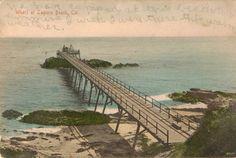 An early seaplane landing on the ocean at Newport Beach Laguna Beach, Newport Beach, Nostalgia, Ocean, History, Digital, Historia, The Ocean, Sea