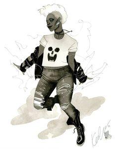 Punk Storm - HeroesCon 2014 sketch by kevinwada.deviantart.com on @deviantART