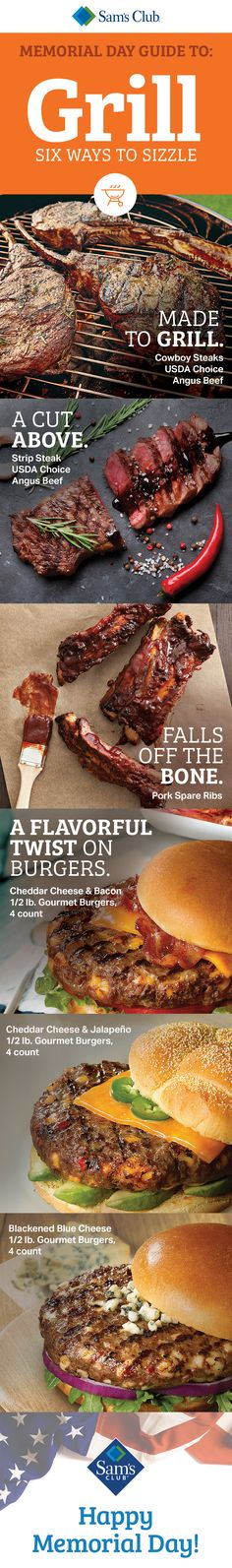 Master the flame with exceptional quality meats at great Memorial Day savings.