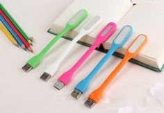 Portable For Xiaomi USB LED Light Port Bendable USB LED Lamp Light