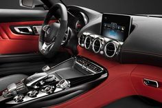 2015 Mercedes-AMG GT Interior Images Released For A Sneak Peek