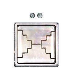 WHITE LUNAR MIRROR. KIN 158. http://spacestationplaza.com/13-moon-dreamspell-calendar/WHITE-LUNAR-MIRROR