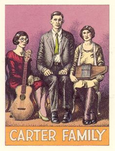 """Hell Hound On My Trail: Carter Family """"Pioneers Of Country Music Trading..."""