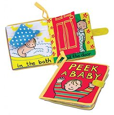 Jellycat My Peek A Baby Book (Cloth Book) -- See this great image @