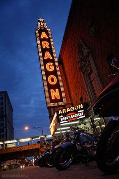 Mods vs Rockers Chicago 2013: Aragon Ballroom Marquee