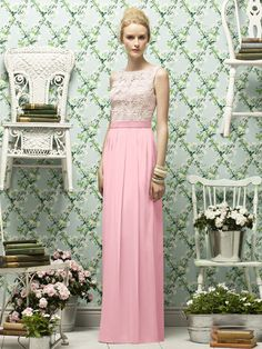 Lela Rose Style LR182    #pink #bridesmaid #dresses
