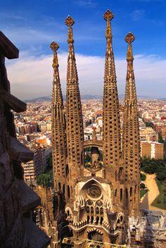 Gaudi Church, Barcelona, Spain