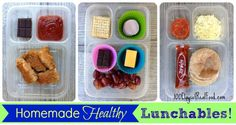 DIY: Homemade Healthy Lunchables (that look just like store bought)