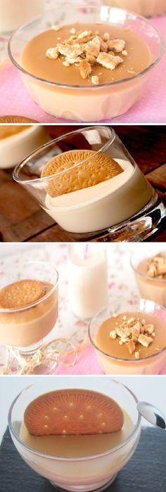Realiza una crema de galletas María rápida y sencilla.  #crema #galletas #maria #facil #postres #dulces #cheesecake #cakes #pan #panfrances #panettone #panes #pantone #pan #recetas #recipe #casero #torta #tartas #pastel #nestlecocina #bizcocho #bizcochuelo #tasty #cocina #chocolate   Si te gusta dinos HOLA y dale a Me Gusta MIREN... Martha Stewart Recipes, Sin Gluten, Just Desserts, Creme, Cookie Recipes, Tapas, Good Food, Food And Drink, Gastronomia