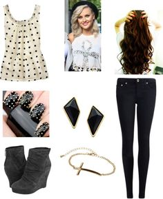 """""""Day With Perrie"""" by browniebrunie ❤ liked on Polyvore"""