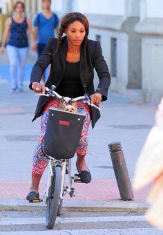 """bi-tri-ri-cycle:  """" Serena Williams  """""""