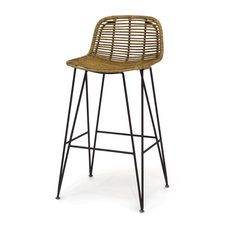 "PALECEK: HERMOSA STOOL  20.25""w x 18.25""dp x 38.75""h Seat: 30""h *saw at HP"
