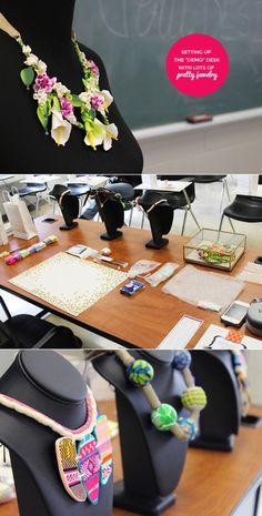 Our Amazing Drexel Jewelry Workshop Workshop, Table Decorations, Amazing, Fun, Jewelry, Fin Fun, Jewellery Making, Atelier, Jewerly