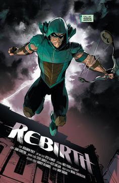 First look in Green Arrow Rebirth #1
