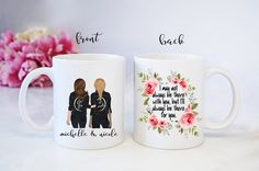 Best Friend Mug - Sisters Coffee Cup - Custom Personalized - Christmas Gift - I may not always be with you but ill always be there for you by TrendyJemsShop on Etsy Best Friend Mug, Friend Mugs, Best Friends, Friends Coffee Mug, Coffee Mug Quotes, Personalized Best Friend Gifts, Personalized Christmas Gifts, Sisters Coffee, Sister Day