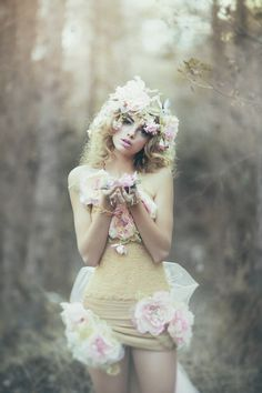 500px / The Wild Rose Fairy by Emily Soto