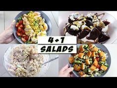 4+1 ιδέες για σαλάτες 🥗 | DoYouSpeakGossip? - YouTube Kung Pao Chicken, Salads, Meat, Breakfast, Ethnic Recipes, Food, Youtube, Morning Coffee, Essen