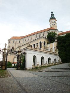 Mikulov Castle, town of Mikulov in South Moravia, Czech Republic