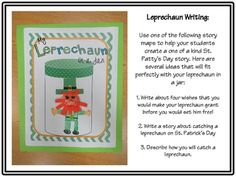 My Leprechaun in a Jar: St. Patrick's Day Writing and Craftivity - Hope King - TeachersPayTeachers.com