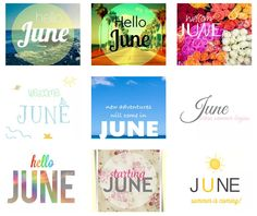 Sweet Candy Times: Hello June*We♥it