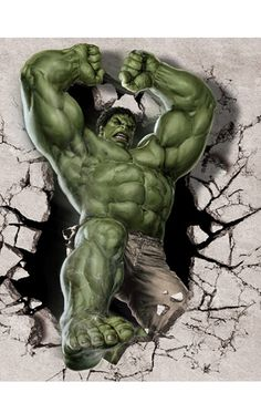 #Hulk #Fan #Art. (The-Hulk-Classical-Stylish-Custom-Fashion-Tatoo-On-Wall-Poster) By: AliExpress. (THE * 3 * STÅR * ÅWARD OF: AW YEAH, IT'S MAJOR ÅWESOMENESS!!!™)[THANK Ü 4 PINNING!!!<·><]<©>ÅÅÅ+(OB4E)