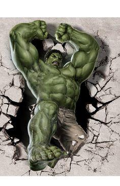 #Hulk #Fan #Art. (The-Hulk-Classical-Stylish-Custom-Fashion-Tatoo-On-Wall-Poster) By: AliExpress. (THE * 3 * STÅR * ÅWARD OF: AW YEAH, IT'S MAJOR ÅWESOMENESS!!!™)[THANK Ü 4 PINNING!!!<·><]<©>ÅÅÅ+(OB4E)