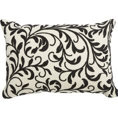 Add a pop of pattern to your sofa or favorite reading nook with this essential pillow featuring a scrollwork motif in black.  sc 1 st  Pinterest : russ sofa bed with chaise - Sectionals, Sofas & Couches