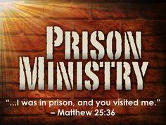 prison ministry - Google Search