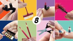 8 Easy Things to Make for Barbie Doll - DIY Miniature Barbie Dolls Diy, Barbie Hair, Barbie Doll House, Barbie Dream House, Barbie Clothes, Barbie Diorama, Mini Choses, Diy Barbie Furniture, Barbie Accessories