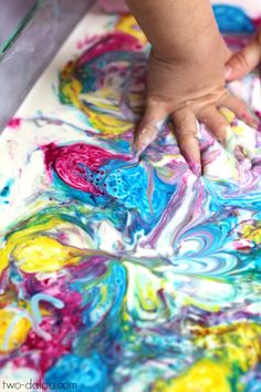 Make this simple oobleck with an extra ingredient that makes it explode into bursts of bubbly color, just like fireworks! Sensory play at it's bubbly best! Church Activities, Art Activities, Toddler Activities, Projects For Kids, Crafts For Kids, Black And White Photo Wall, Craft Images, Preschool Art, Baby Play