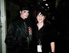 Backstage en el show de debut de Janet Jackson con el 'ritmo nación World Tour' en febrero de 1990. Los Ángeles.