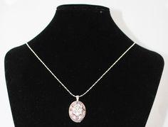 Pink & Grey Necklace