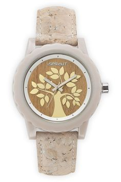 Sprout Watches Sprout Organic Cork Tree Watch : Jewelry