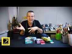 Comment débuter en Mixed media: un melange de plusieurs techniques artistiques - YouTube